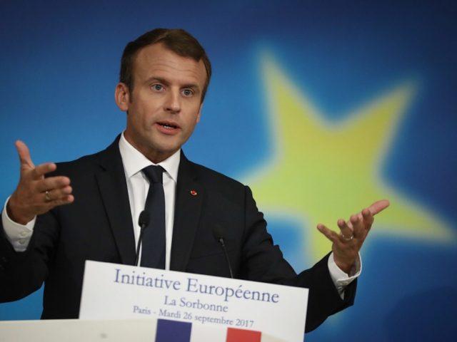 Ein Franzose und ein Europäer