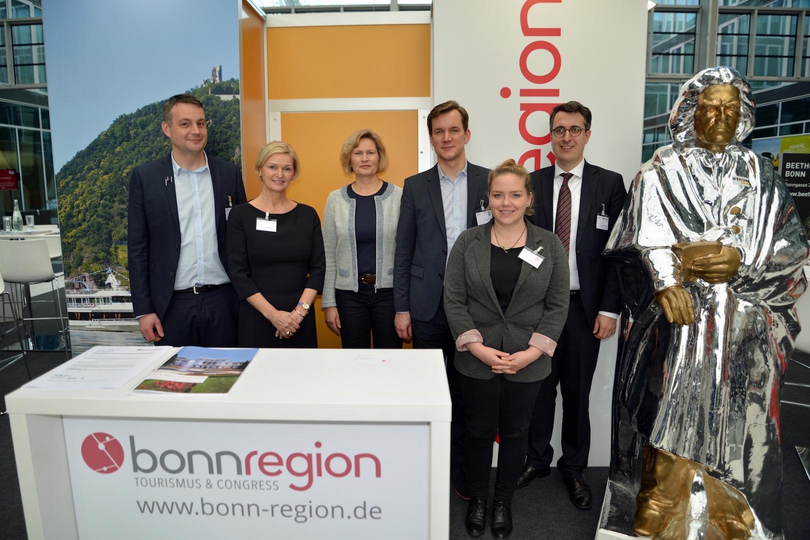 Bonn Region Messestand VPR VIP-Treff