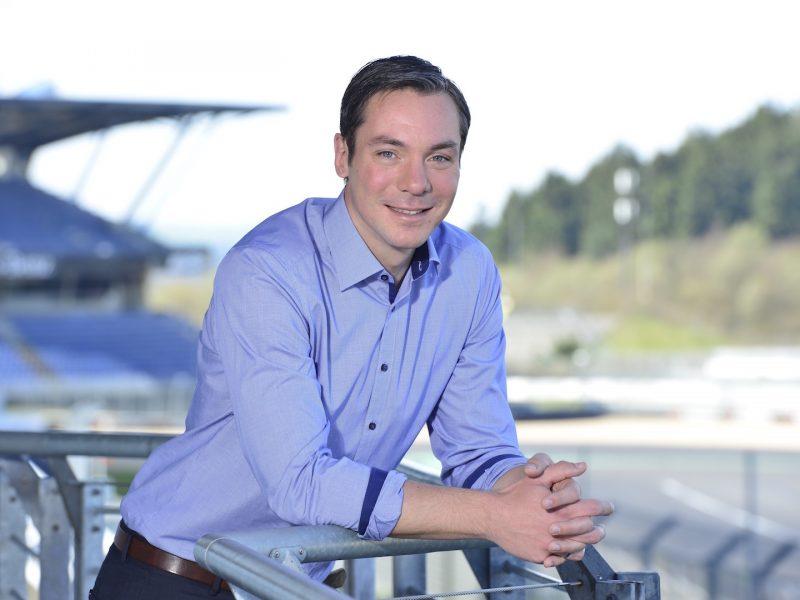 Nürburgring Geschäftsführer Mirko Markfort