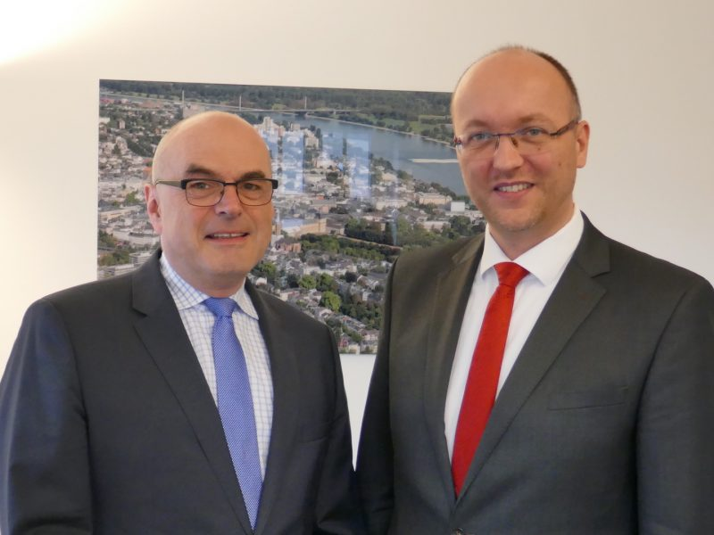 Jürgen Bester und Marc Ernesti