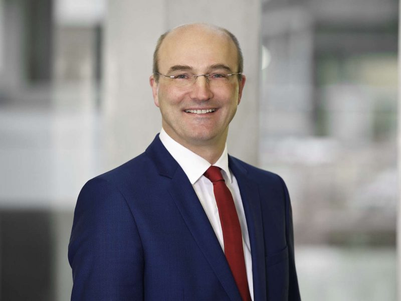 Prof. Ulrich Rüdiger Rektor der RWTH Aachen