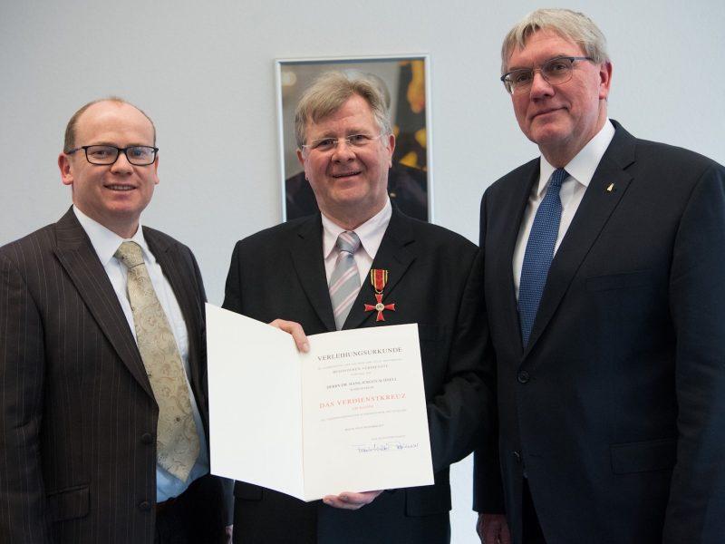 Verleihung des Verdienstordens der BRD