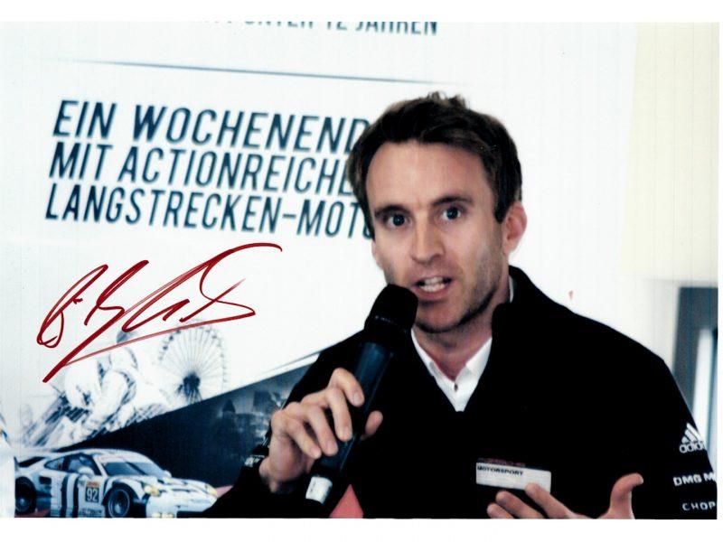 Autogramm Bernhard