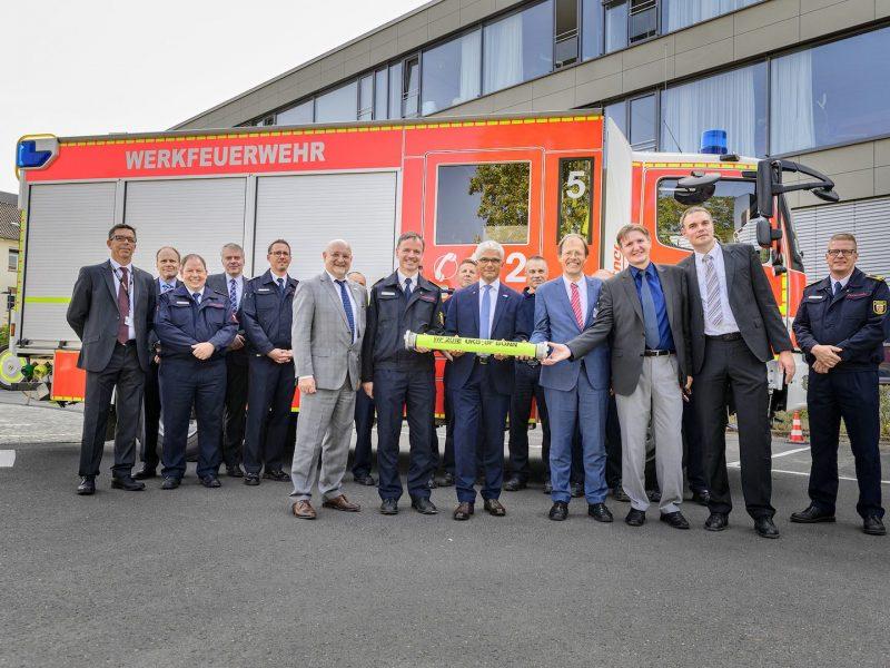 Koop vertrags Werkfeuerwehr UKB Feuerwehr Stadt Bonn