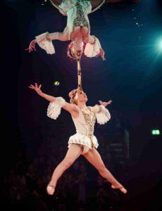 Queens of Baroque – Aerial Chandelier